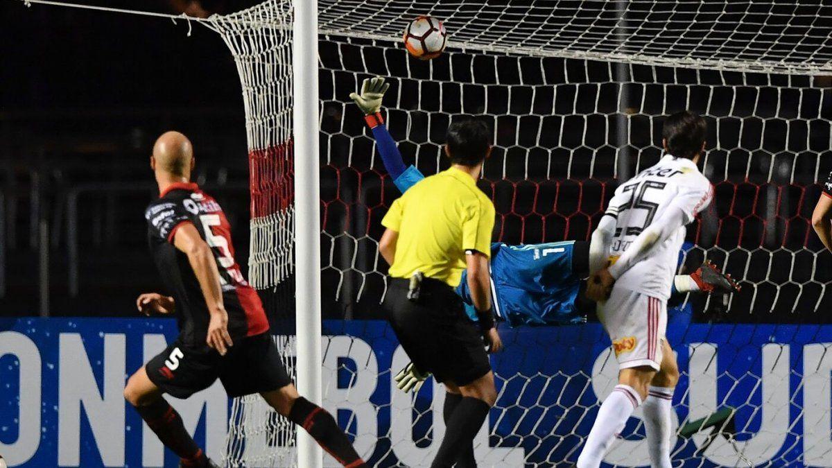 El gol de Matías Fritzler a San Pablo
