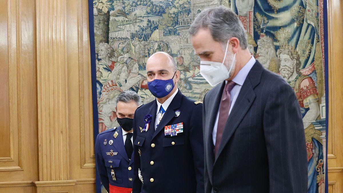 La Casa Real anunció que las actividades de Felipe VI se suspendían por diez días.