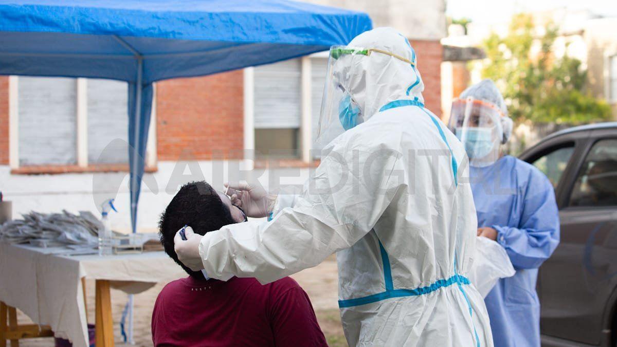 El Ministerio de Salud de Santa Fe confirmó 2.193 nuevos casos de coronavirus.