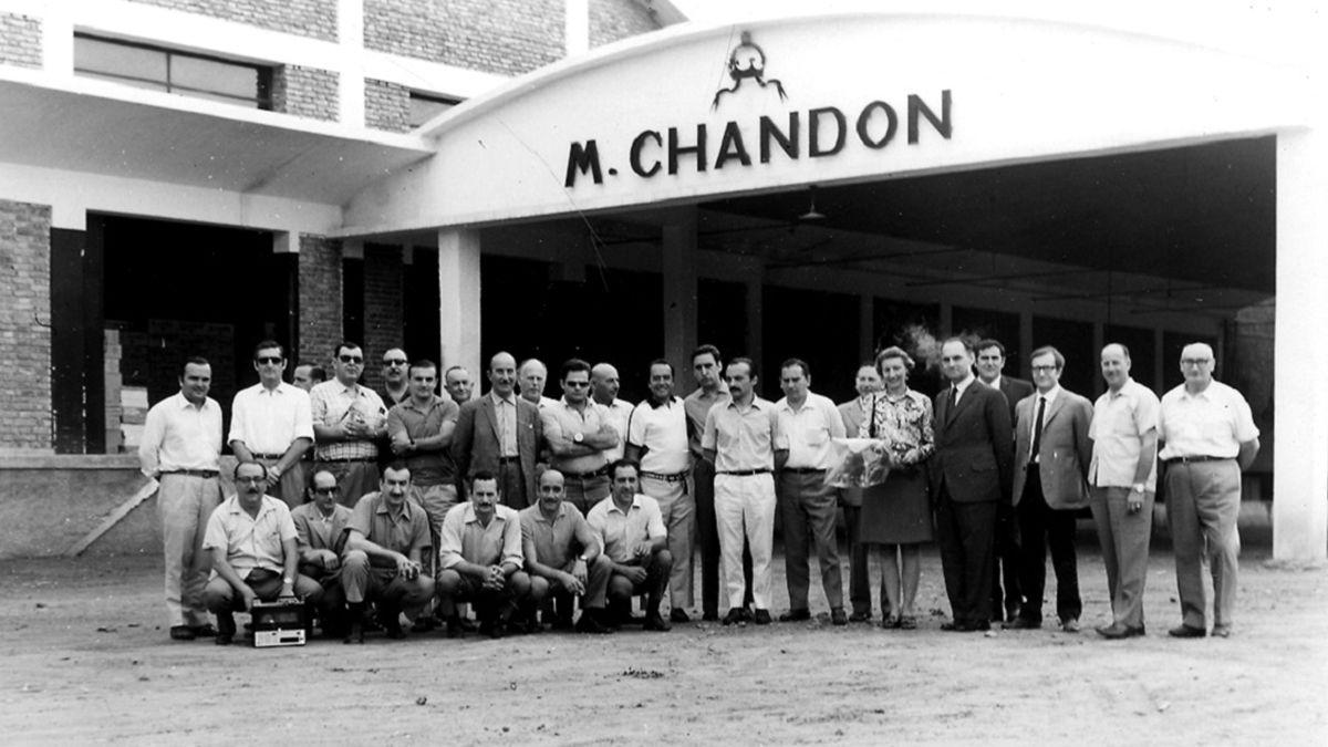 Chandon celebra sus 60 años en Argentina