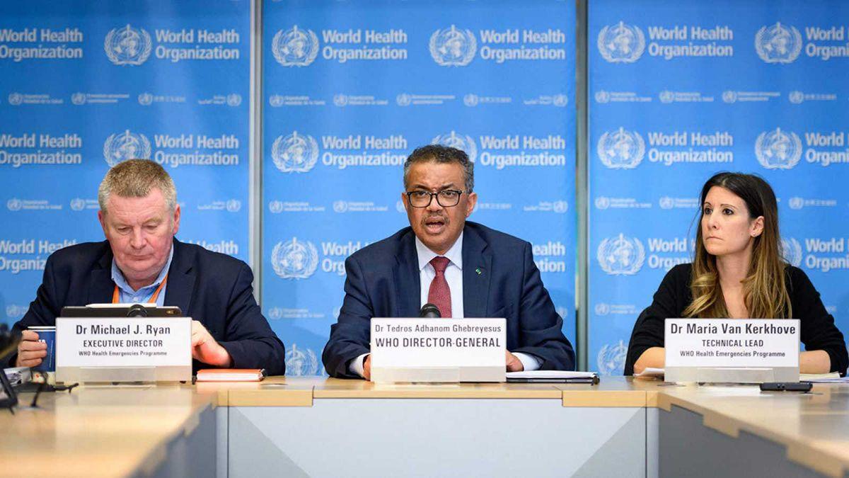 El director general de la Organización Mundial de la Salud (OMS)