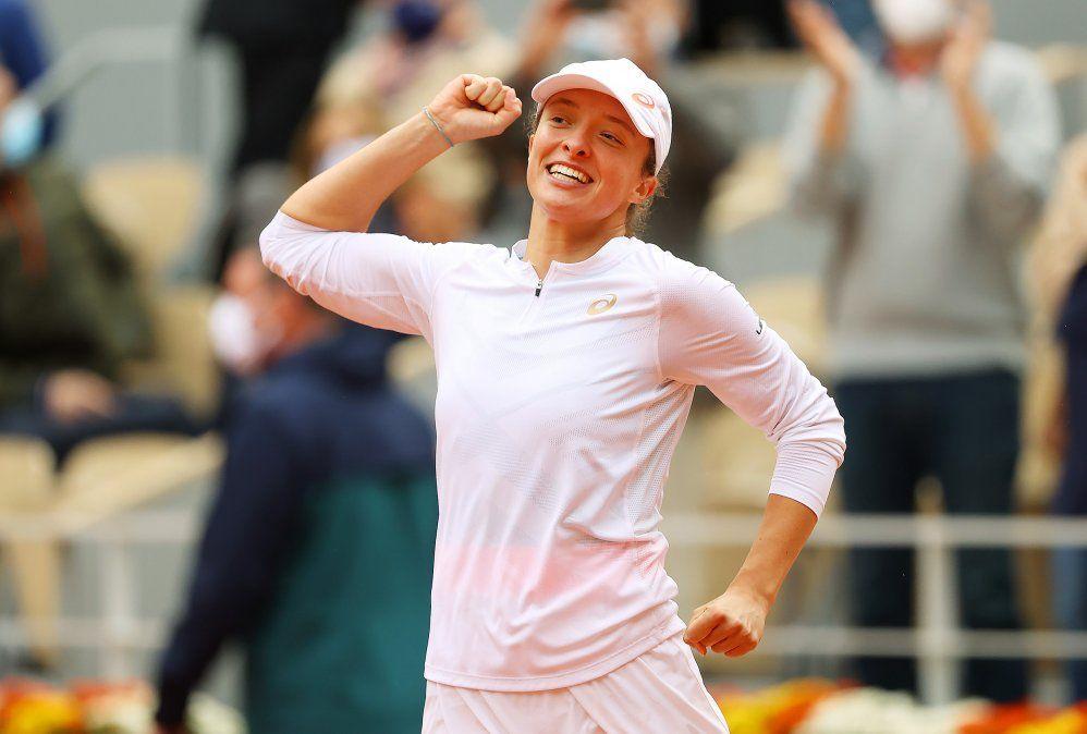La polaca Iga Swiatek había eliminado a la rosarina Nadia Podorska en semifinales.