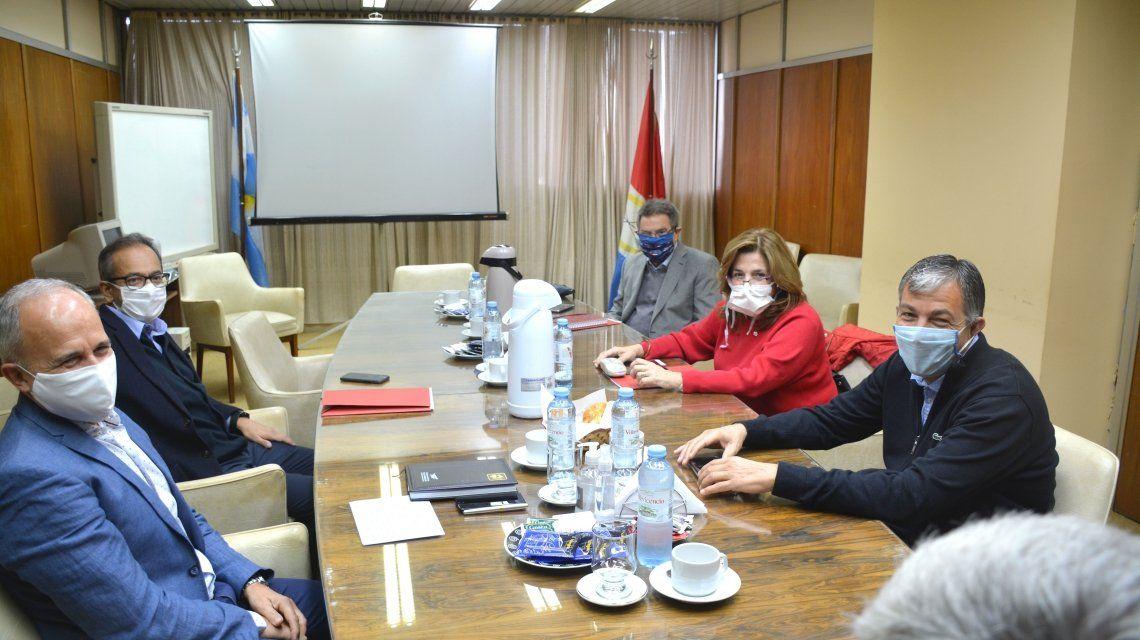 Los ministros de Economía