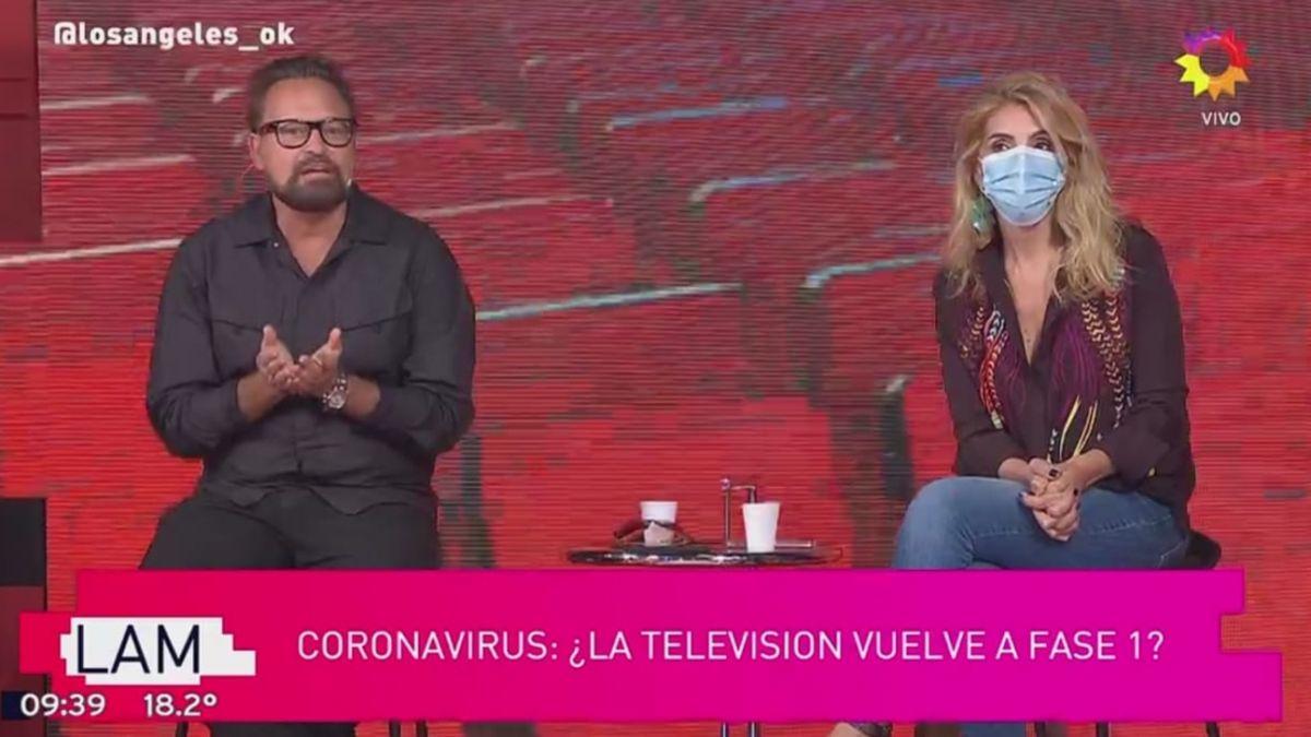 Karina Iavícoli se retiró del programa Los Ángeles de la Mañana