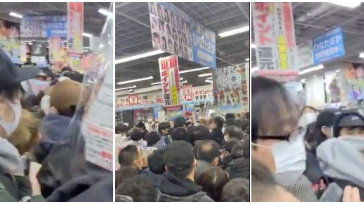 PS5: Caos en tienda por llegada de consolas