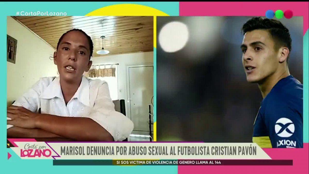 Rompió el silencio la mujer que denunció a Cristian Pavón: Abusó de mí dentro de un baño