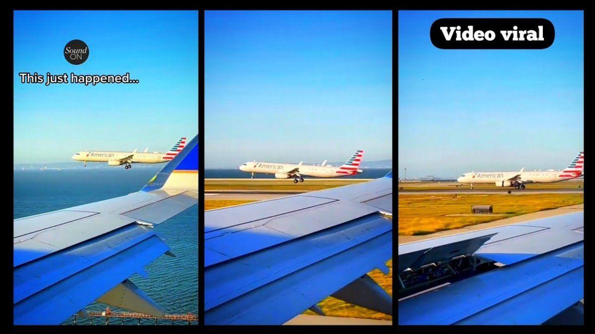 Divertido momento protagonizado por un usuario de TikTok dentro de uno de los aviones.