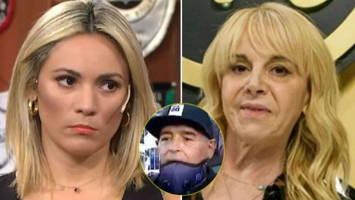 Claudia Villafañe cruzó en vivo a Rocío Oliva: Se les ...