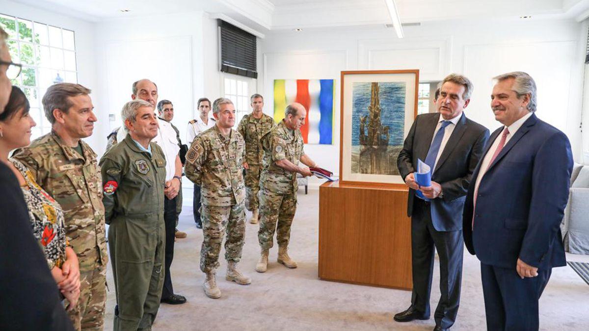 El despliegue de las Fuerzas Armadas será con la totalidad de sus efectivos en todo el país.