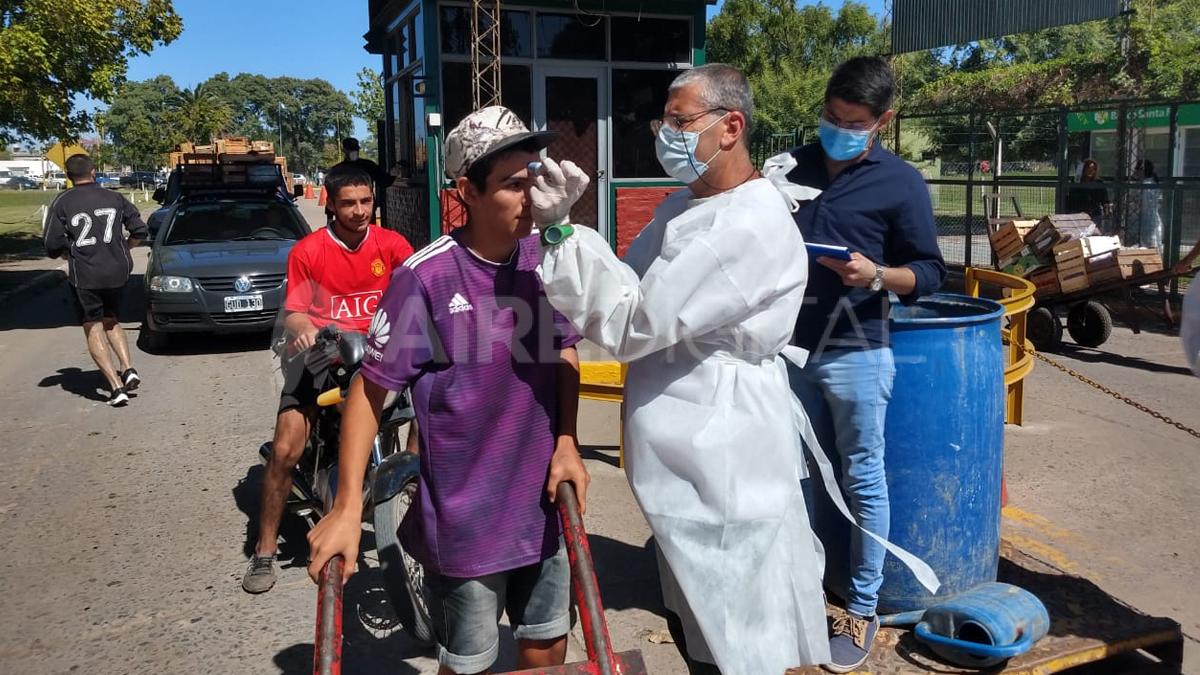 Dio negativo el caso sospechoso de coronavirus en el Mercado de Santa Fe y se intensifican los controles