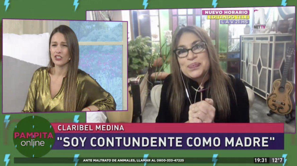 Claribel Medina fue tajante en el programa de Pampita e hizo una fuerte declaración.