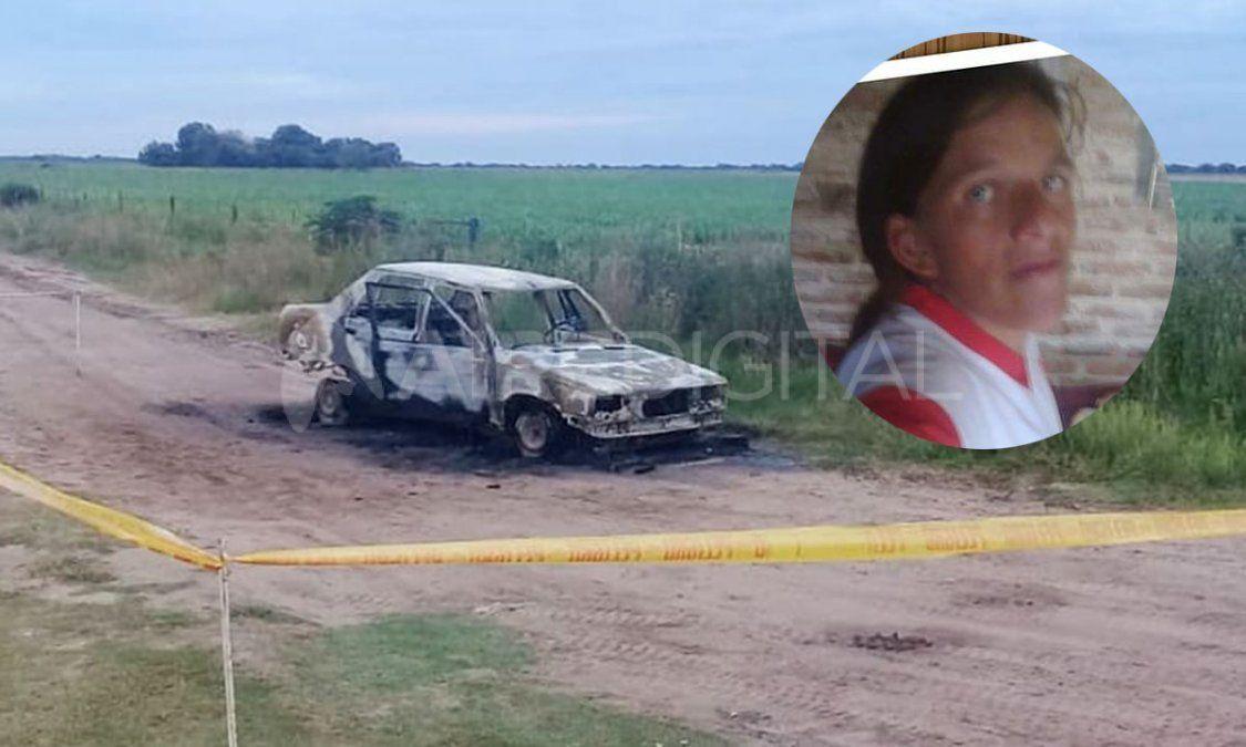El cuerpo calcinado de Gabriela Benítez fue encontrado en una zona rual de Alejandra