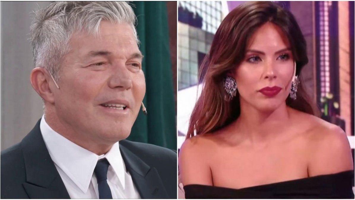Barby Franco reveló que Burlando no la sigue en Instagram y que ella lo bloqueó