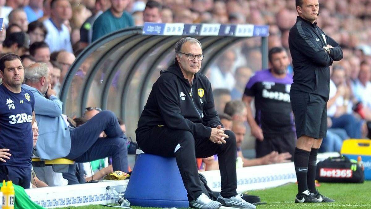 El entrenador argentino elogió a Bamford