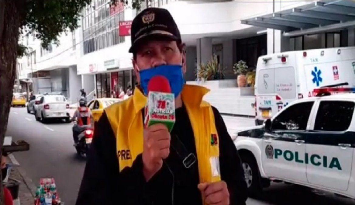 Reportero se entera de muerte de su esposa en transmisión en vivo
