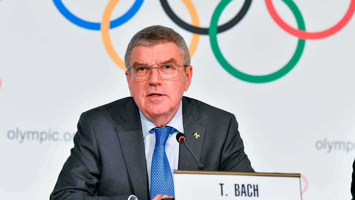 El presidente delComité Olímpico Internacional(COI)