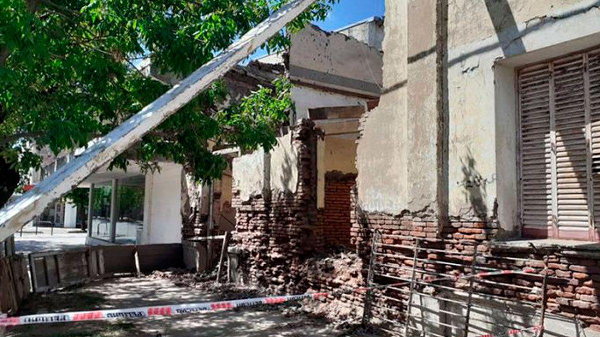 Demolieron la casa donde nació el escritor Manuel Puig