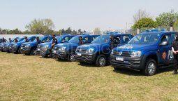 En las últimas semanas se sumaron nuevos móviles a la Policía de Santa Fe. Ahora, avanzarán en inversiones tecnológicas con fondos aportados por la Nación.