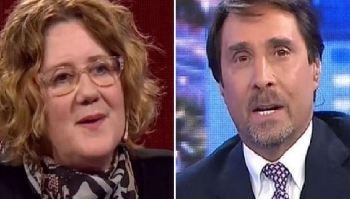 Verónica Llinás cruzó a Eduardo Feinmann y a Martín Amestoy tras su catarsis
