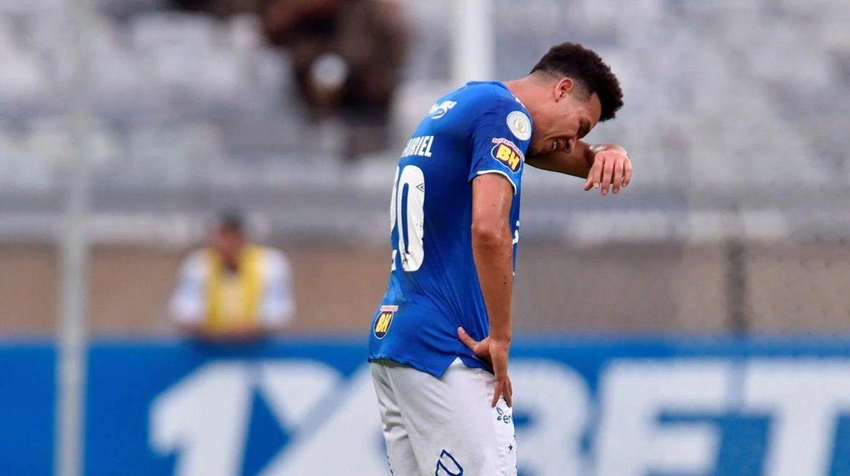 Cruzeiro descendió por primera vez en su historia