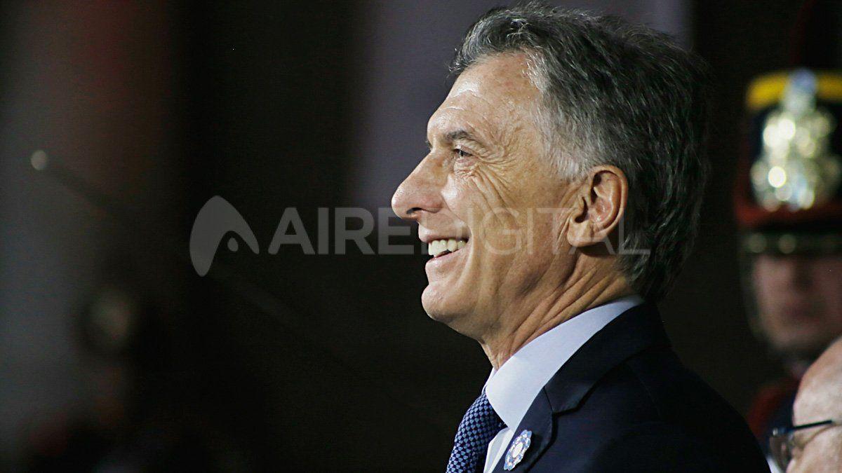 Mauricio Macri celebró el banderazo del lunes en Argentina.