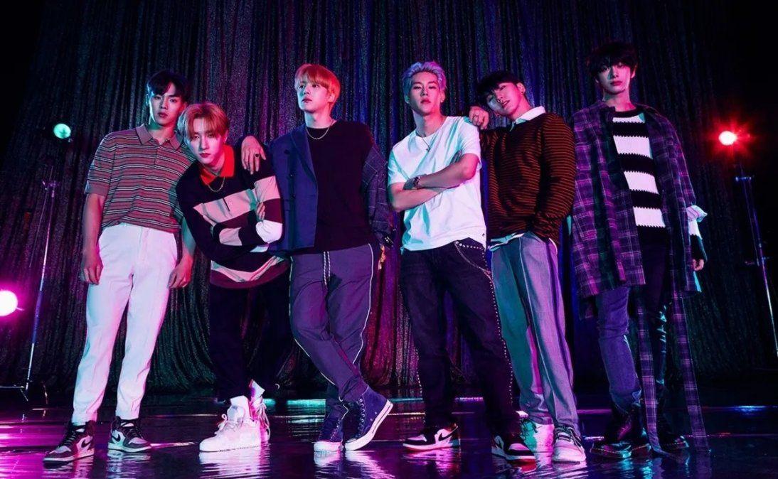 El grupo de Kpop
