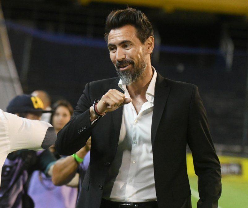 Eduardo Domínguez cumple 43 años. El Barba