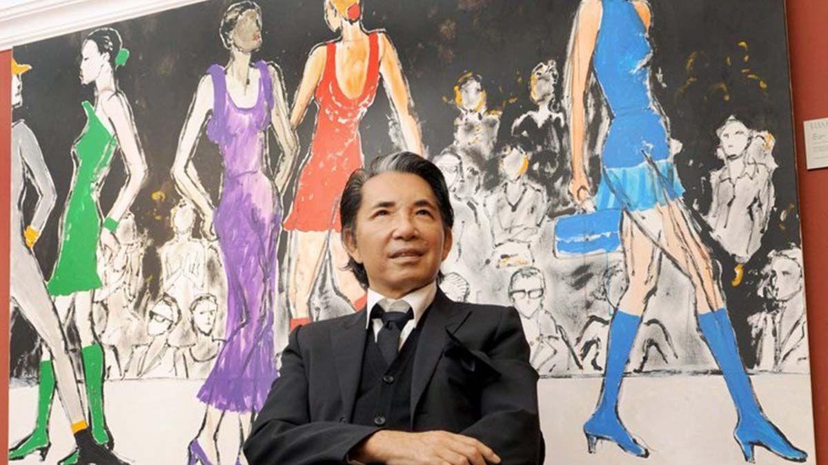 El diseñador Kenzo Takada