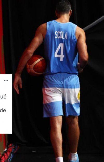 Luis Scola jugó su último partido con la Selección Argentina en los Juegos Olímpicos de Tokio y su despedida conmovió a Manu Ginóbili, otro referente del básquet nacional.