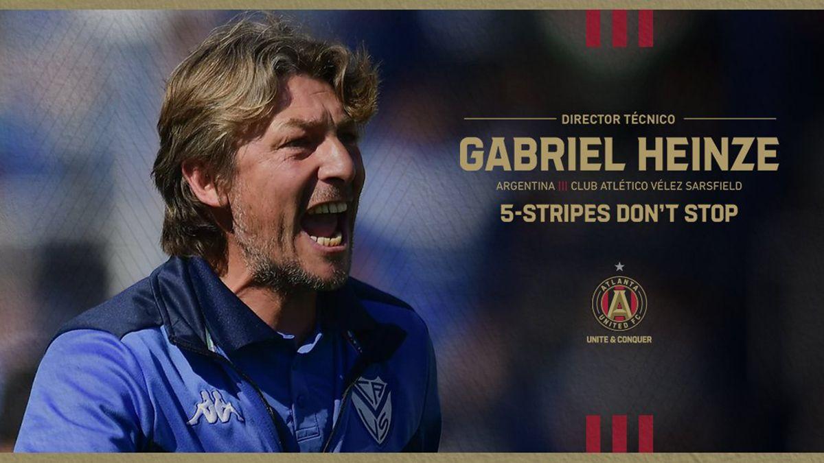 Argentino Gabriel Heinze nombrado nuevo técnico del Atlanta United de la MLS