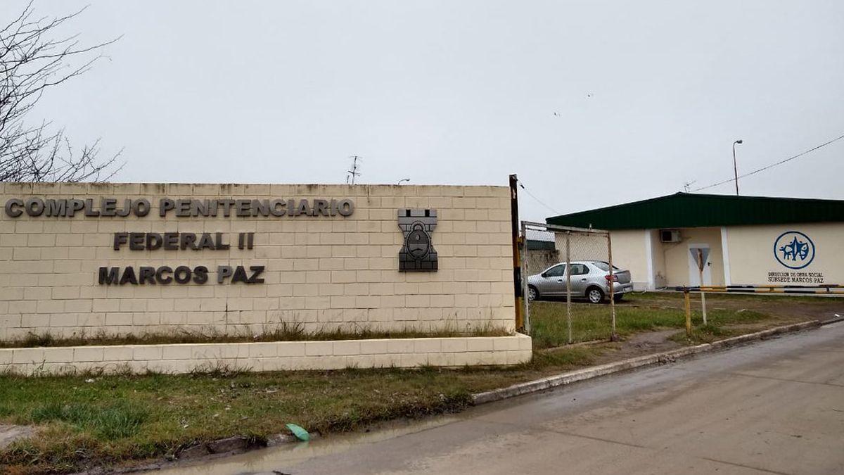 En el penal de Marcos Paz están detenidos los referentes de las principales organizaciones criminales del país.