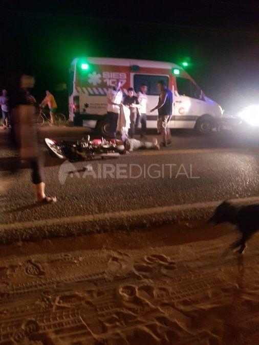 Fatal accidente en ruta 1: un hombre falleció en el límite de Arroyo Leyes y Rincón