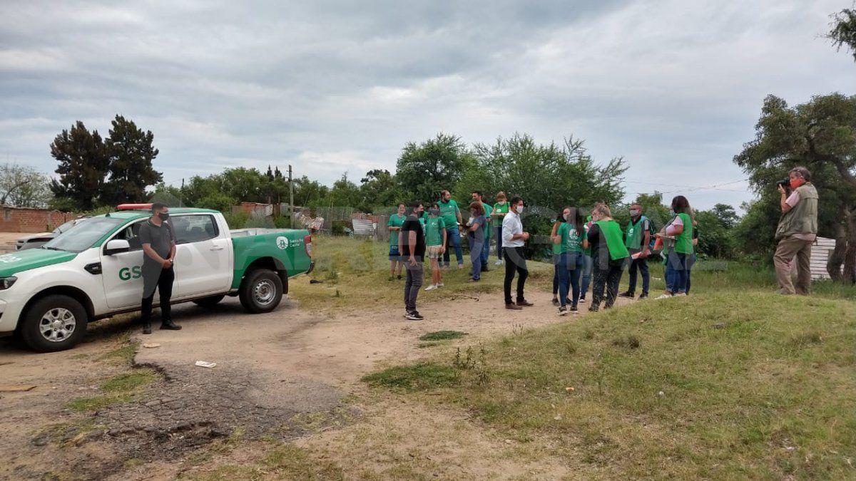 Barrio Los Alisos y el cañaveral: 68 familias ocupan los terrenos informalmente