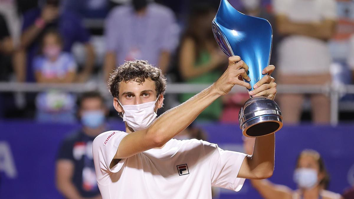 Cerúndolo marcó un hito en el tenis argentino