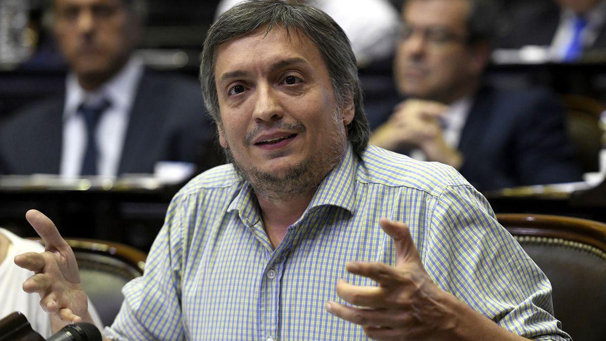La Justicia ordenó que Máximo Kirchner no pague la deuda fiscal