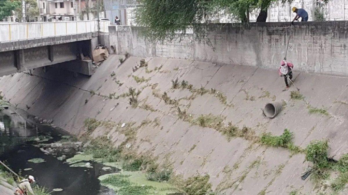 Escucharon gritos desgarradores en un canal