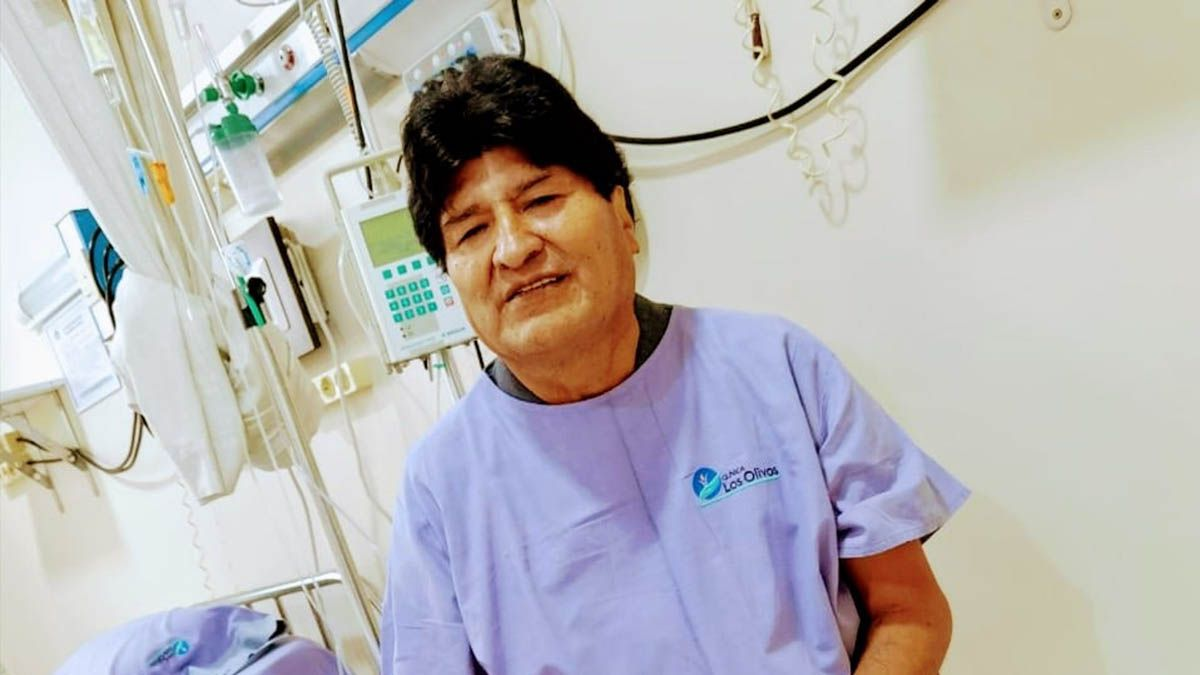 Bolivia: tras ser internado por coronavirus, Evo Morales afirmó que está bien