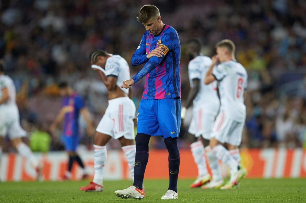 Barcelona cayó 3-0 con Bayern Munich por la primera fecha del Grupo E de la Champions League.
