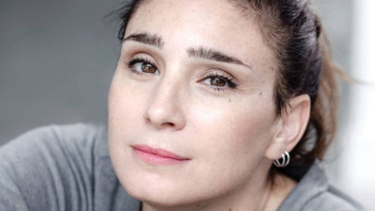 Valeria Bertuccelli apareció muy cambiada.