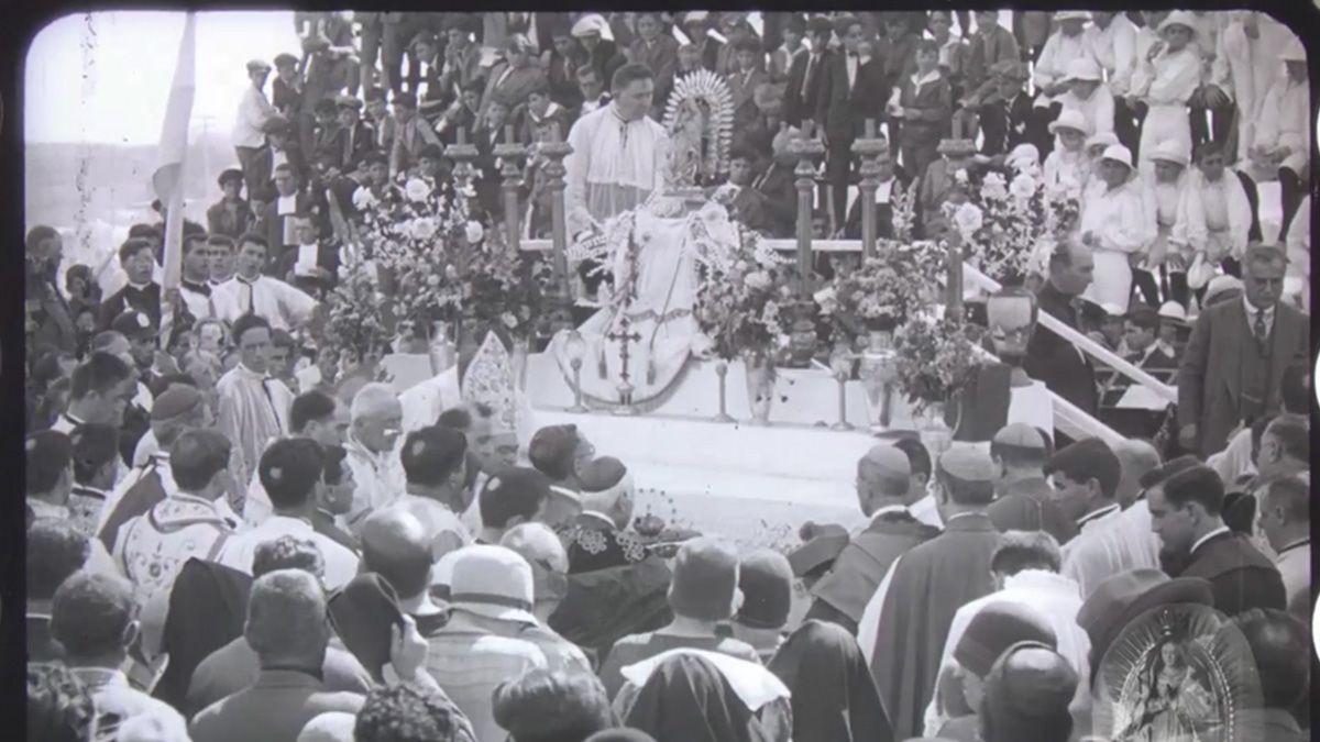 Capital Cultural presentó la película de la coronación de la Virgen de Guadalupe