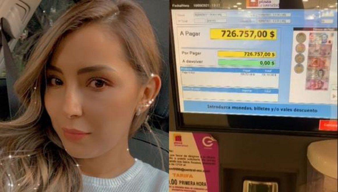 Video viral: joven se enteró que debe más de 35 mil dólares por no pagar un boleto de estacionamiento del 2017.