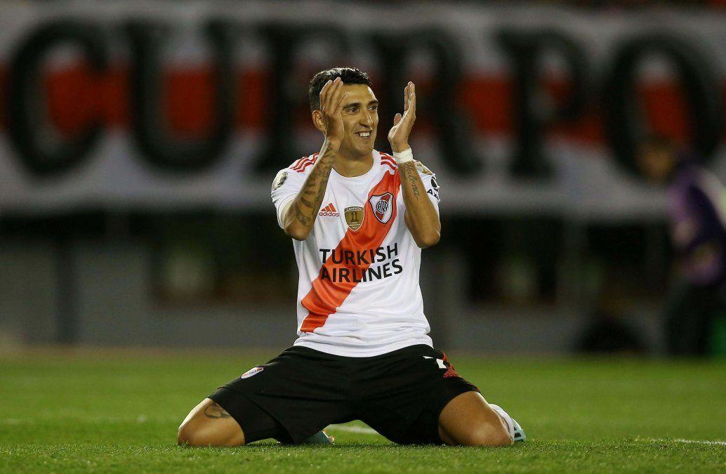 Matías Suárez entrenó diferenciado y es duda para Gallardo para enfrentar a Colón.