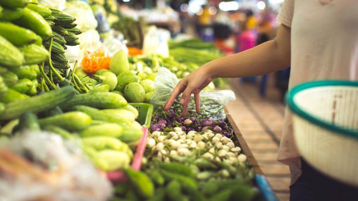 Los consumidores de productos agrícolas o ganaderos pagaron en septiembre un promedio de 5