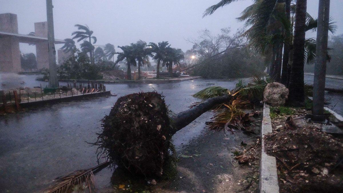 Advierten que el huracán Delta se dirige a Luisiana