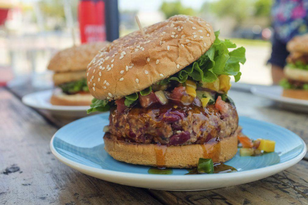 Fácil y rico: hamburguesas de garbanzo