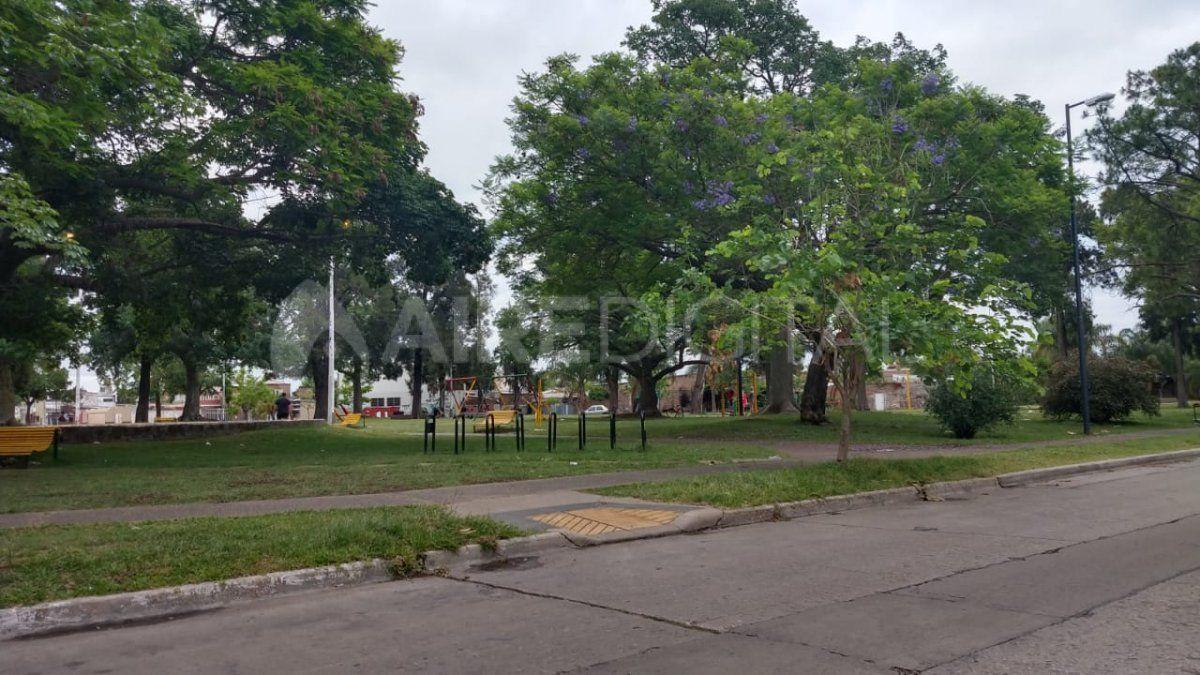 El episodio ocurrió en la plaza de barrio Escalante.