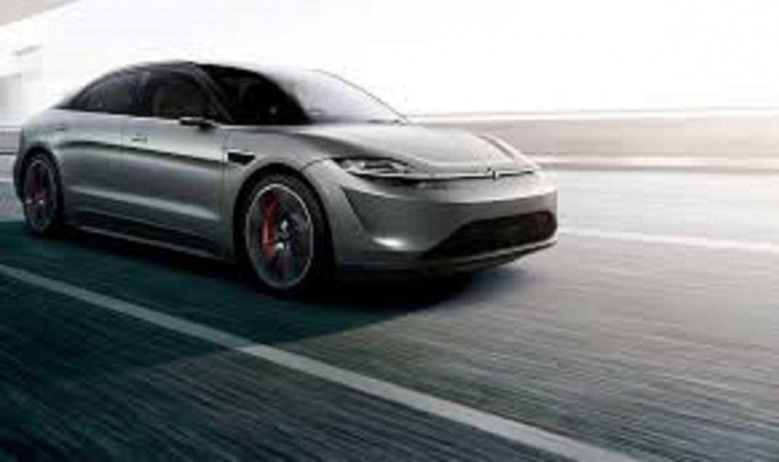 Vision-S: cómo es el auto eléctrico de Sony que ya está siendo probado en Europa.