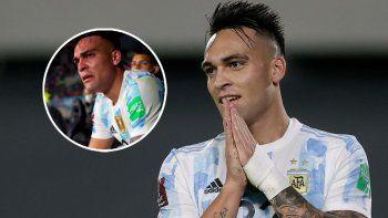 El llanto de Lautaro Martínez en el banco de suplentes: el goleador explicó por qué se emocionó hasta las lágrimas