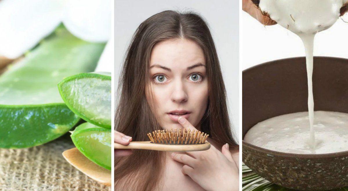 Remedios naturales para evitar la caída del pelo