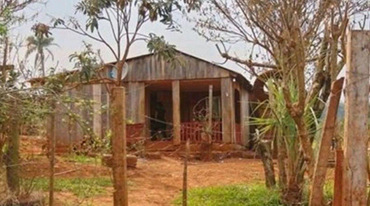 La casa donde Milagros Soledad Suárez fue abusada sexualmente y asesinada